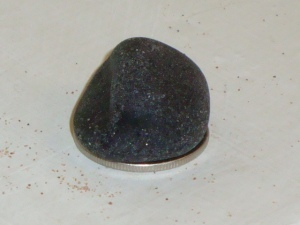 Black Sea Glass Nugget